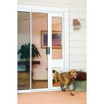 Shop Black Friday Deals On Endura Flap Thermo Panel Extra Large Flap Pet Door For Sliding Glass Doors Overstock 12706837