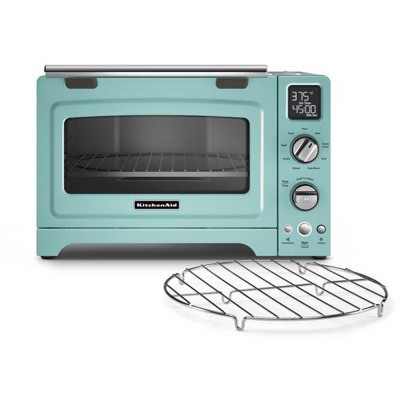 KitchenAid KCO275AQ Aqua Sky 12-inch Digital Convection Countertop Oven