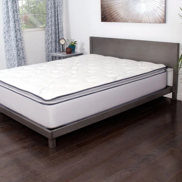 Nuform Affinity 13 Inch King Size Pocketed Coil Gel Pillowtop Mattress