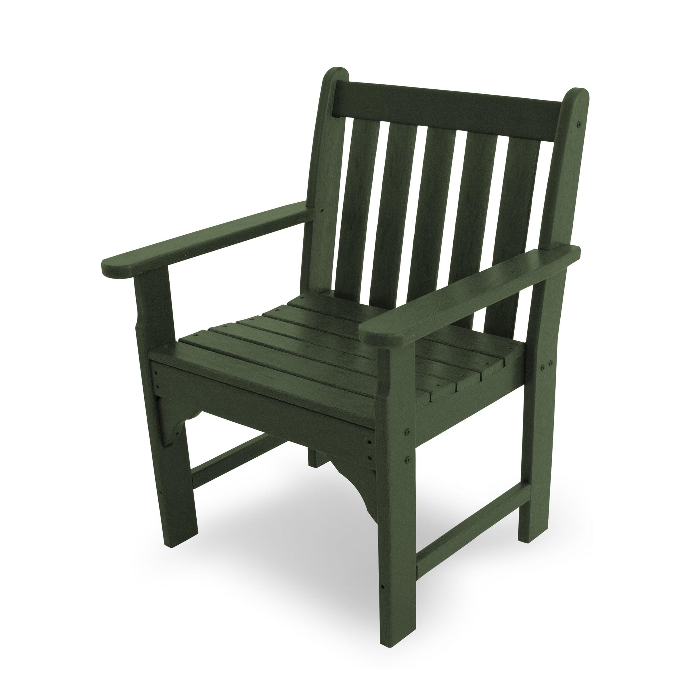 polywood vineyard outdoor arm chair