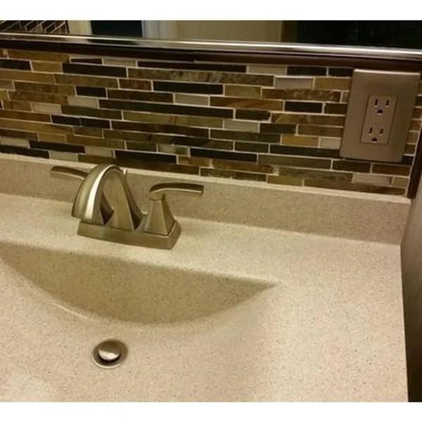 moen voss centerset bathroom sink faucets