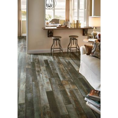 Shop Architectural Remnants Faux Wood Laminate Flooring Pack  13 07     Architectural Remnants Faux Wood Laminate Flooring Pack  13 07 Square Feet  Per Case