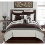 Chic Home 16 Piece Keira King Bed In A Bag Comforter Set Overstock 14506350