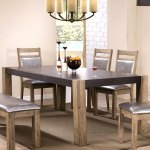 Shop Black Friday Deals On Modern Rustic Concrete Design Dining Table Brown Overstock 14519008