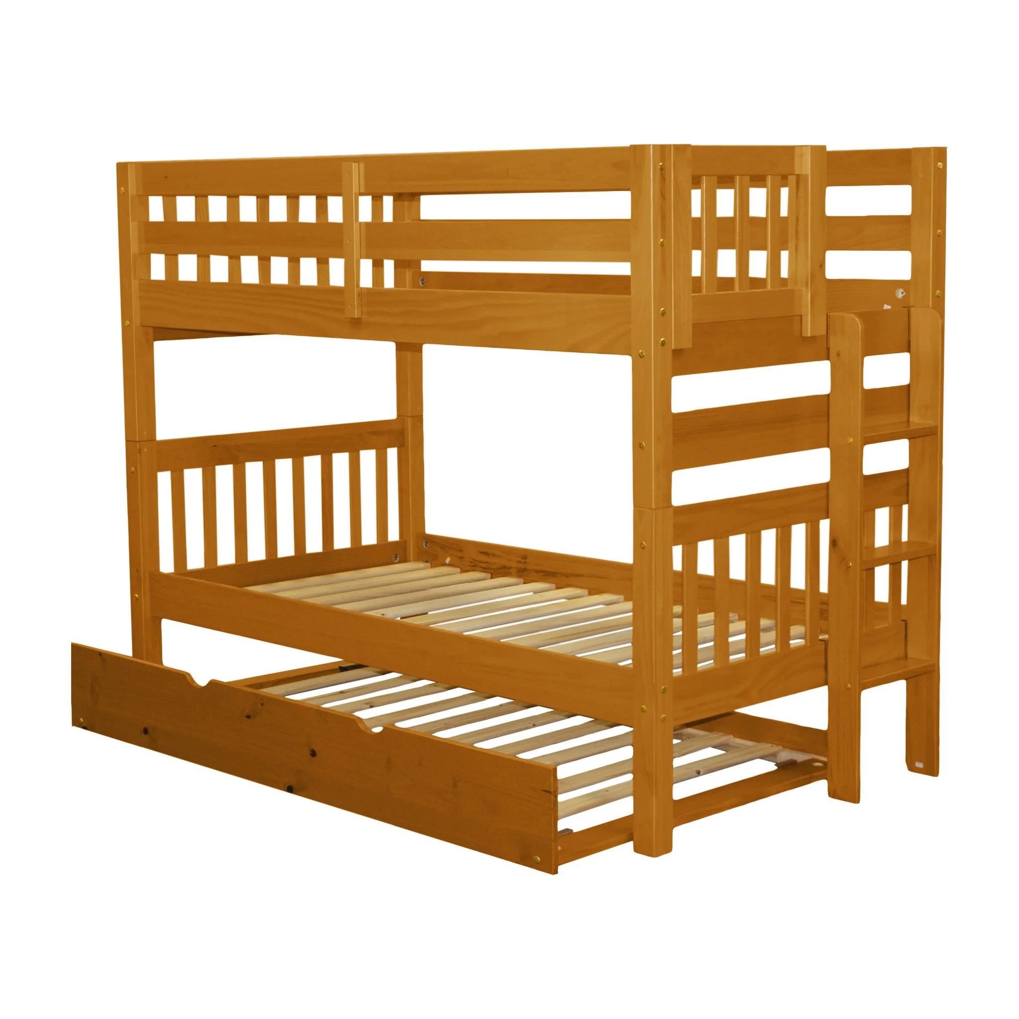 bedz king bunk beds twin over twin