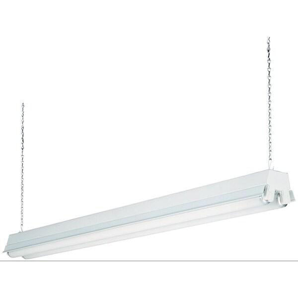 white 2 light t8 fluorescent