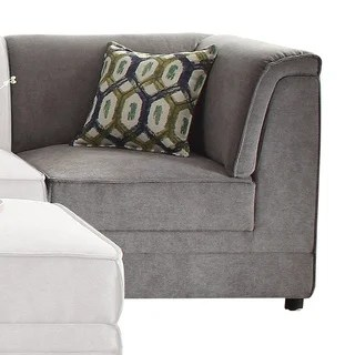 Canterbury 3 Piece Fabric Sectional Sofa Set By Christopher Knight