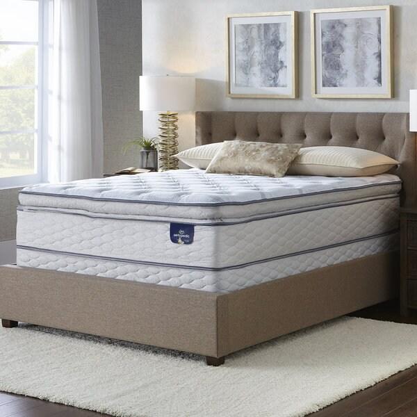 Serta Westview Super Pillow Top Queen Size Mattress Set