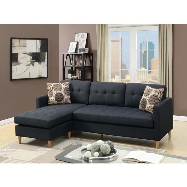 mendosia reversible tufted sectional