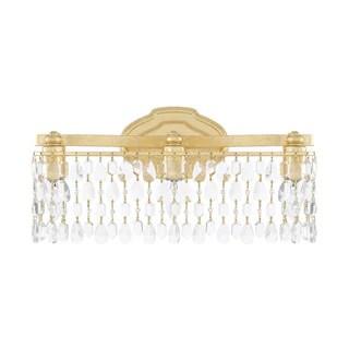Capital Lighting Blakely Collection 3 Light Gold Bath Vanity