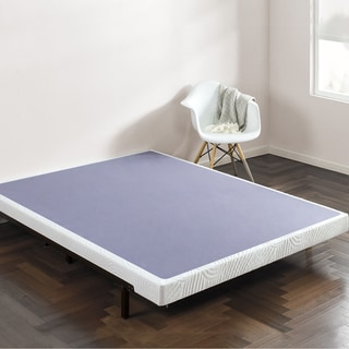 Priage 4 Inch Smart Box Spring Mattress Foundation Option Twin
