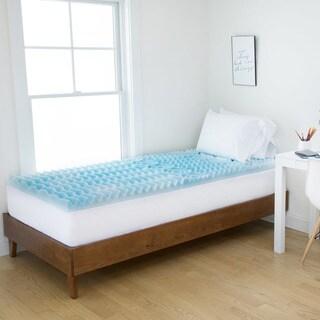 Authentic Comfort 2 Inch Rx 5 Zone Foam Dorm Mattress Topper