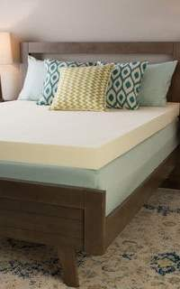 Touch Of Comfort Ultimate 4 Inch Visco Memory Foam Mattress Topper