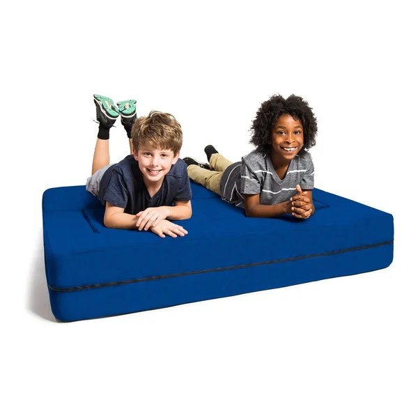 jaxx big kids convertible sleeper sofa