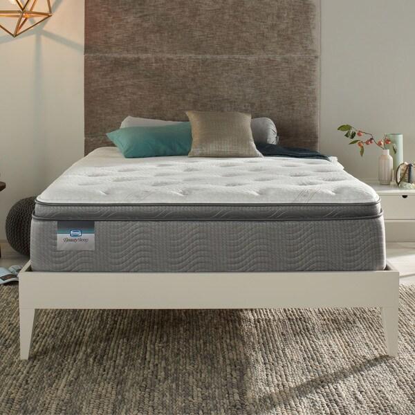 Simmons Beautysleep C Reef Luxury Firm Pillow Top 12 5 Inch Full Size Mattress Set