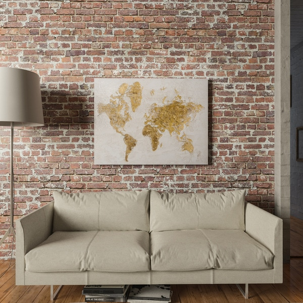 Shop Yosemite Home Decor Gold Map Original Hand Painted Wall Art     Yosemite Home Decor Gold Map Original Hand Painted Wall Art