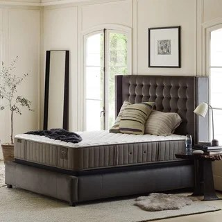 Stearns And Foster Scarborough 14 Inch Firm Full Size Mattress Set