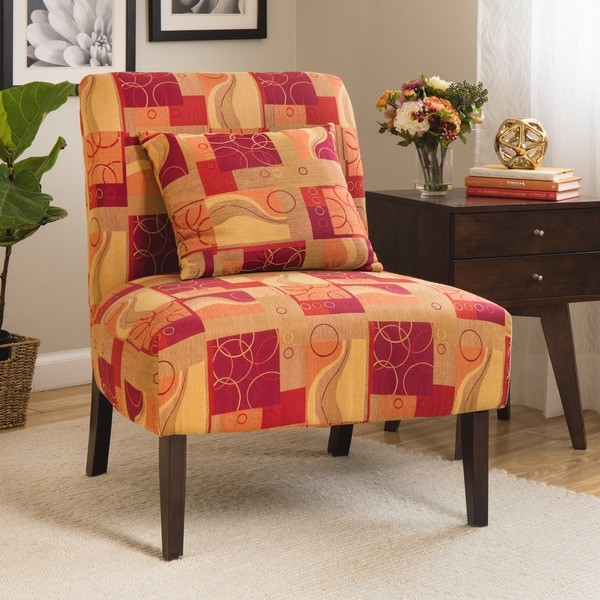 Armless Upholstered Accent Chairs