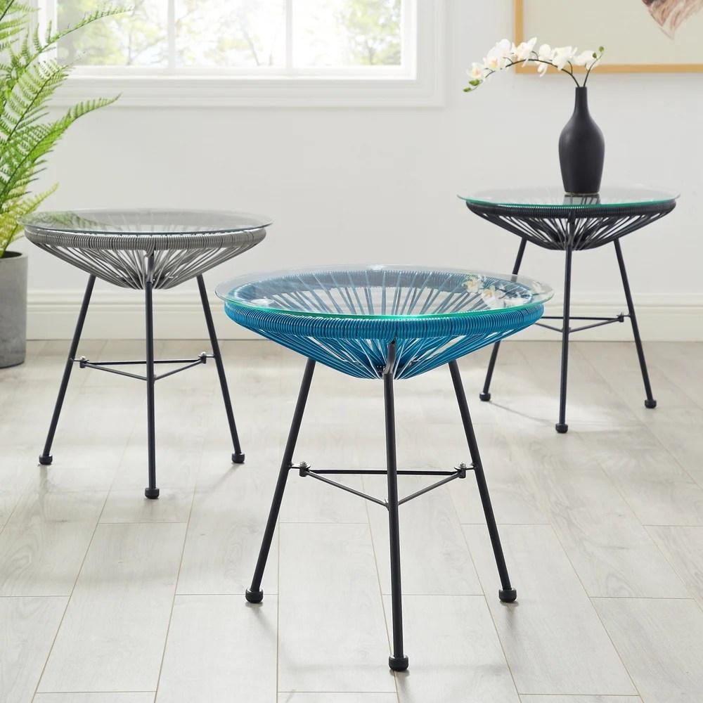 buy metal outdoor coffee side tables