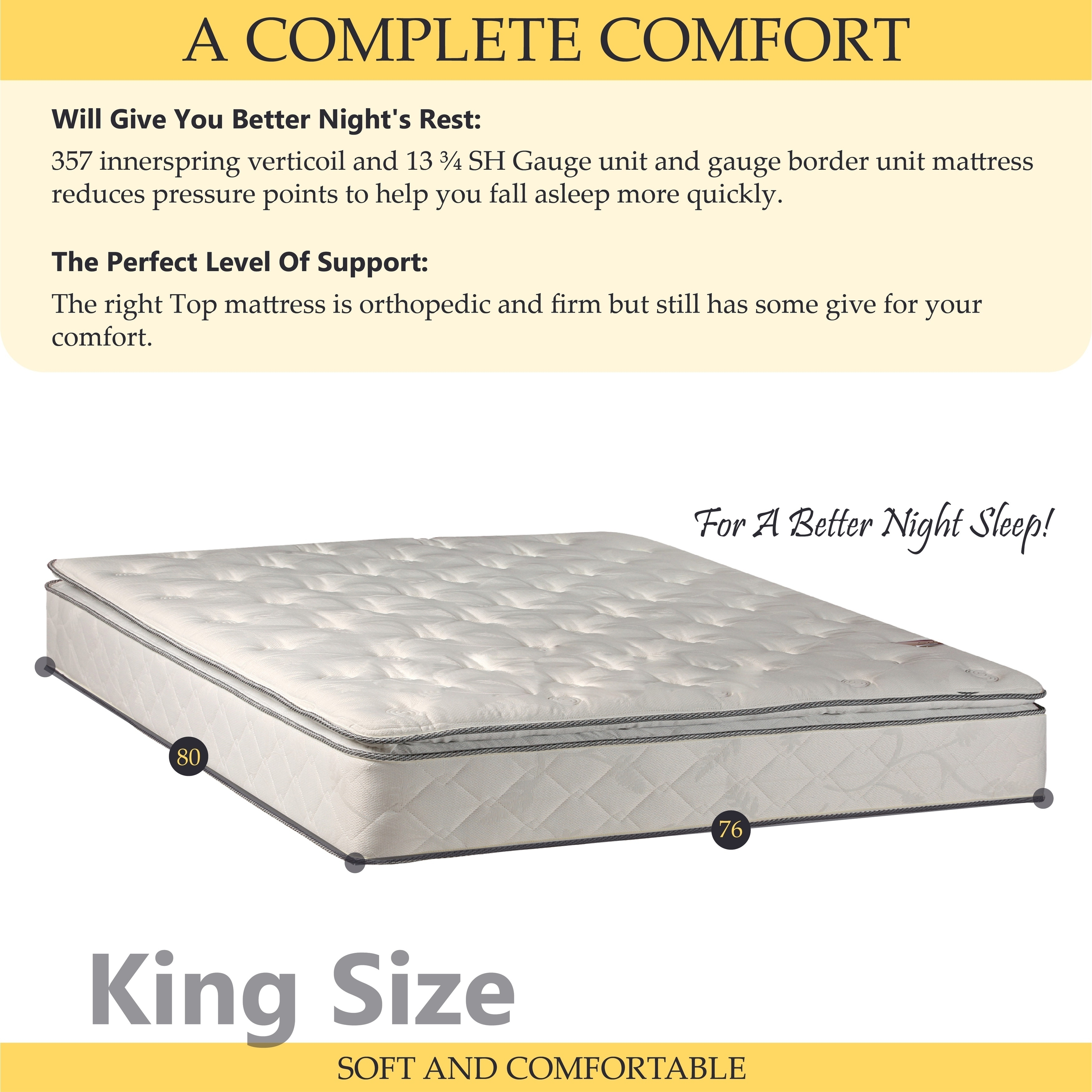 onetan 10 in pillow top innerspring mattress and 4 in box spring