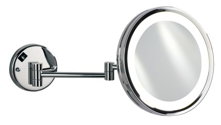 Shop Black Friday Deals On Empire 5x Magnification Wall Mount 10 Lighted Makeup Mirror Polished Chrome Overstock 18591803