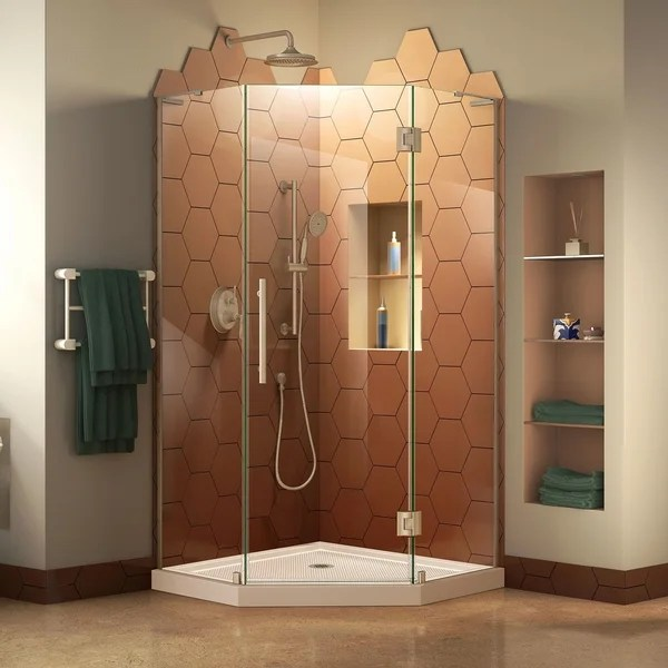 Buy Cream Shower Stalls Kits Online At Overstock Our Best Showers Deals
