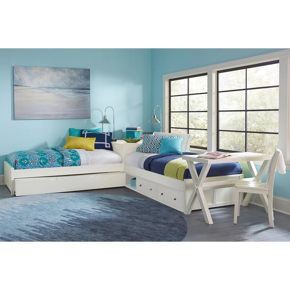 l shaped bunk kids toddler beds