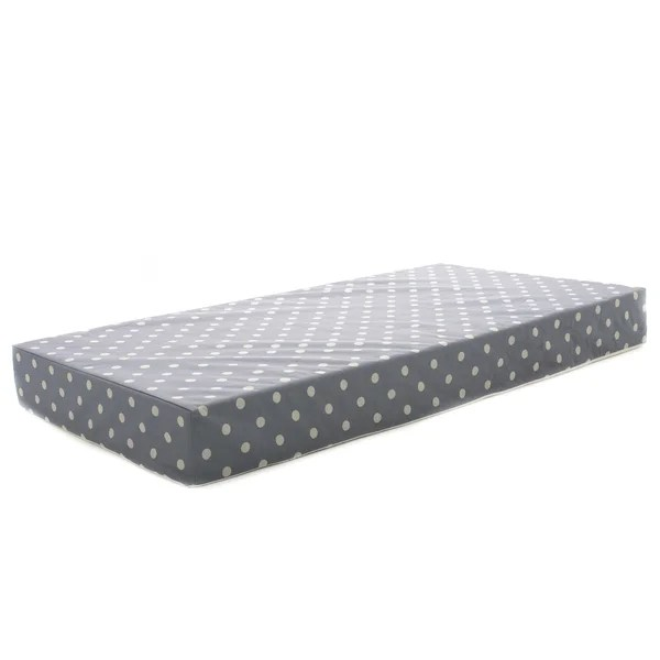 Milliard Hypoallergenic Baby Crib Mattress Or Toddler Bed With Waterproof Cover 27 5 X52