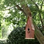 Shop Black Friday Deals On Glitzhome 13 H Wooden Distressed Garden Birdhouse On Sale Overstock 19211739
