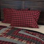 Home Furniture Diy Cushions Plaid Pillow Covers Blue Check Buffalo Plaid Rustic Farmhouse Country New Bortexgroup Com