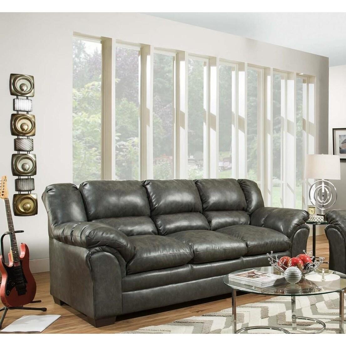 Sofatrendz Davenport Charcoal Sofa