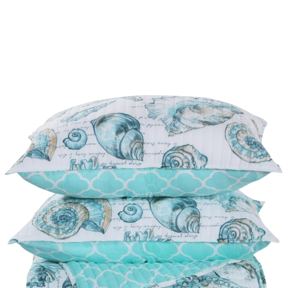 buy nautical coastal pillow shams