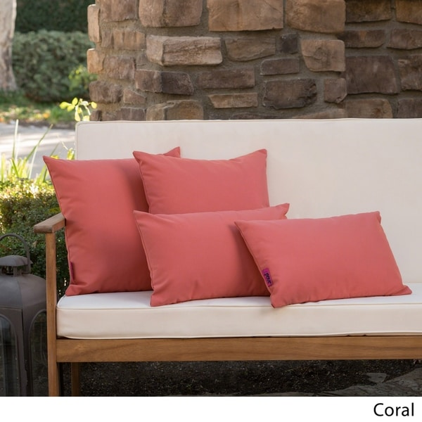 buy pink outdoor cushions pillows