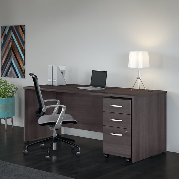 Shop Bush Business Studio C 72W X 30D Office Desk With