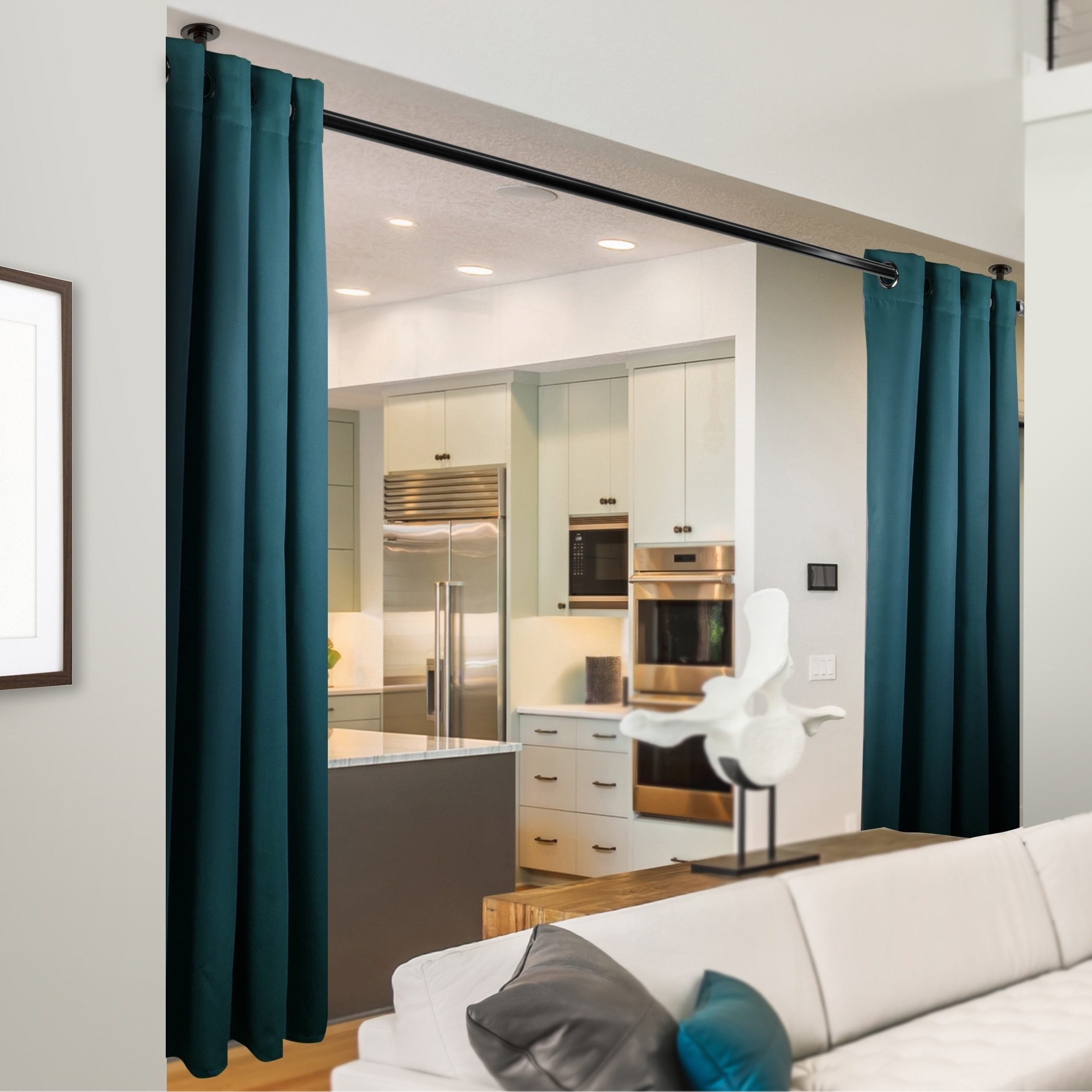 Instyledesign 108 H Room Divider Curtain With Grommet 1 Panel