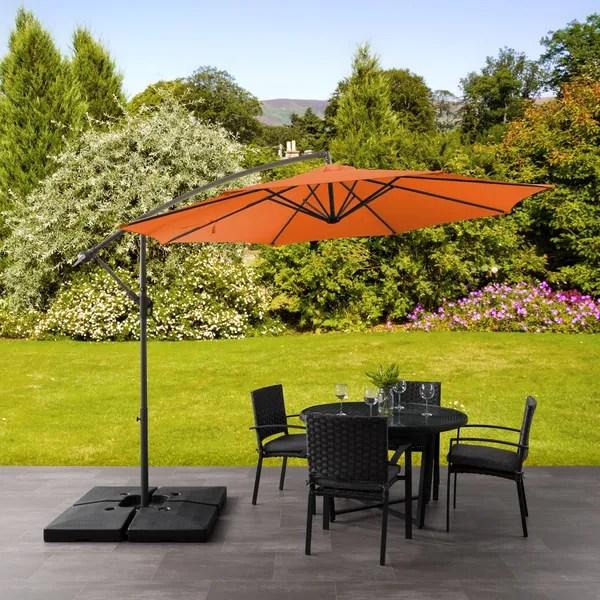 north bend offset patio umbrella by