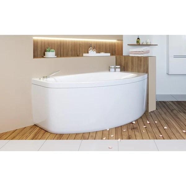 Shop Aquatica Anette B Left Corner Acrylic Bathtub Free Shipping Today 20693398