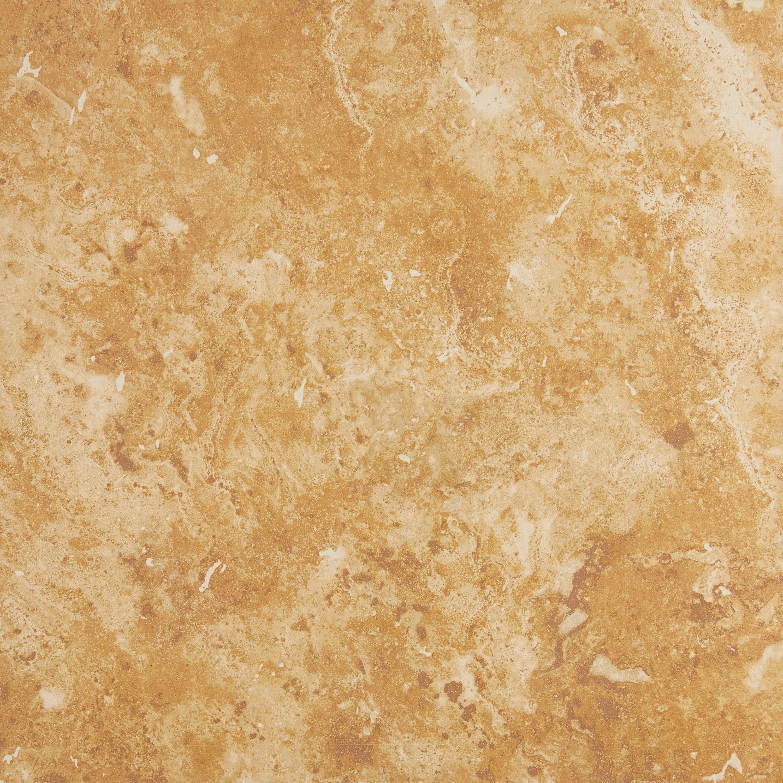 rustic style 18x18 inch glazed ceramic floor tile in amber 18x18