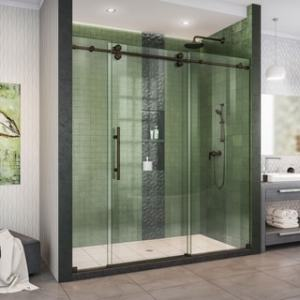 Buy Sliding Shower Doors Online at Overstock com   Our Best Showers     DreamLine Enigma XO 68 72 in  W x 76 in  H Fully