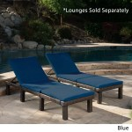 Jamaica Outdoor Water Resistant Chaise Lounge Cushion Set Ebay