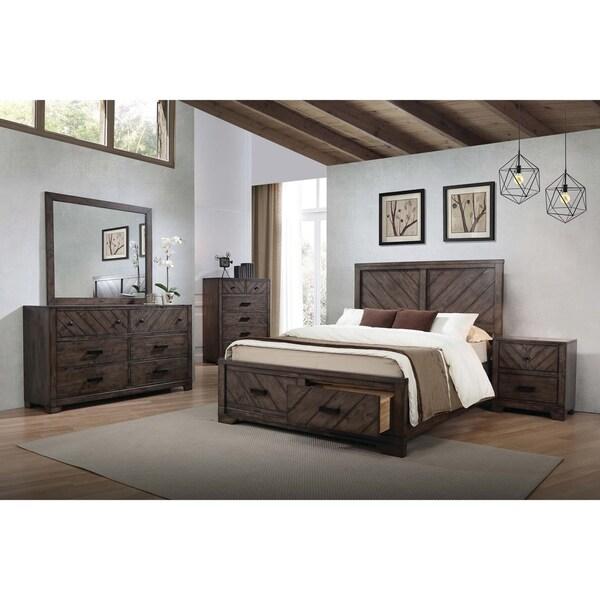 Dark Rustic Bedroom Furniture Novocom Top
