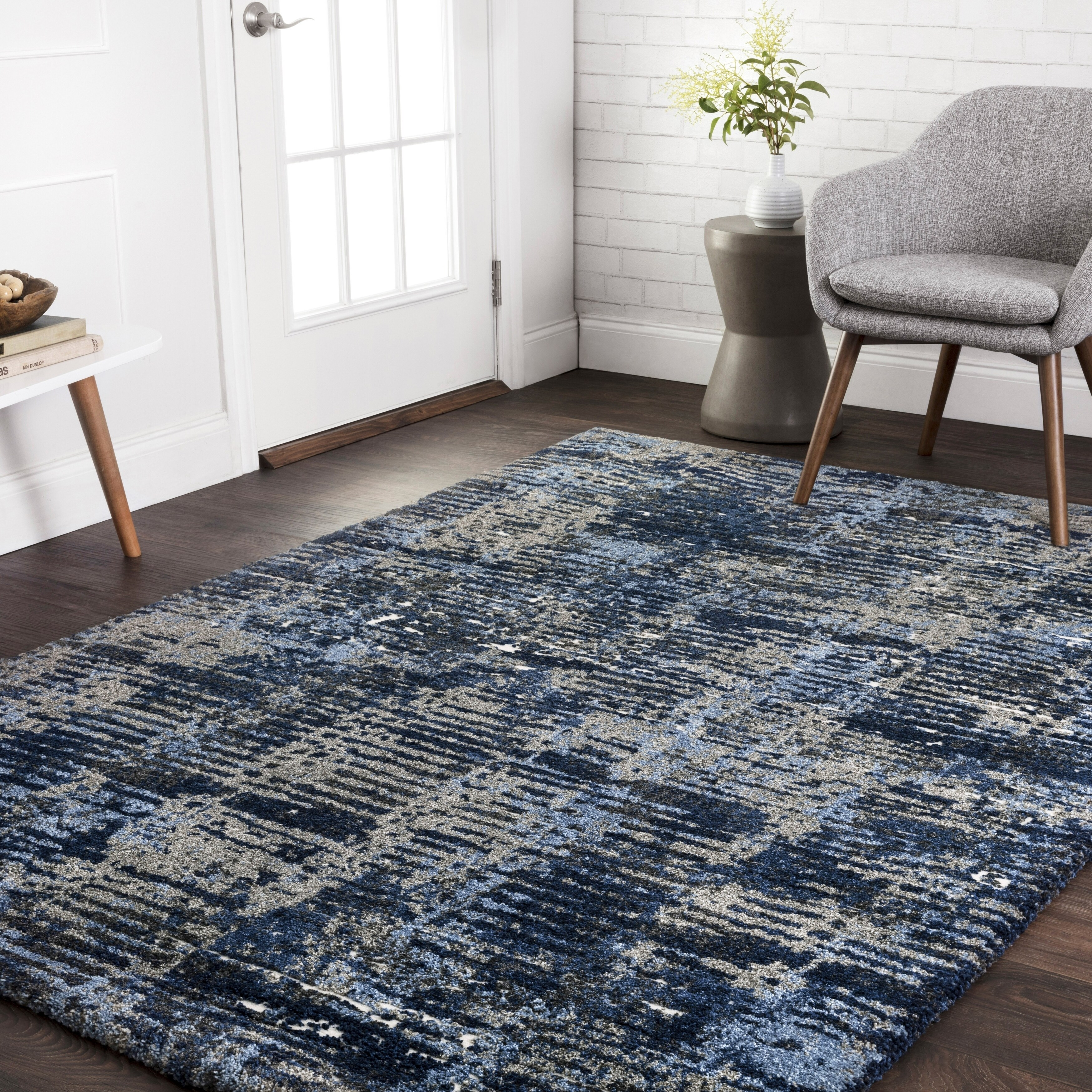 Alexander Home Cassidy Modern Abstract Area Rug On Sale Overstock 21869306