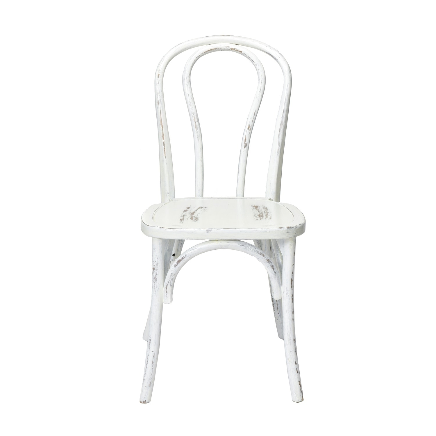 Rustic Stackable Bentwood Dining Chair