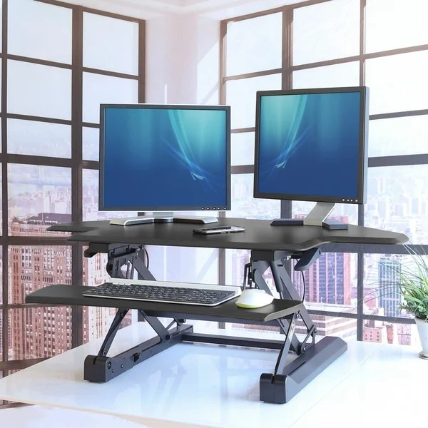 Adjustable Monitor And Keyboard Riser