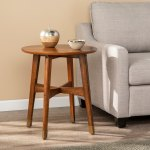 Morgenstern Round Midcentury Modern End Table On Sale Overstock 22701035