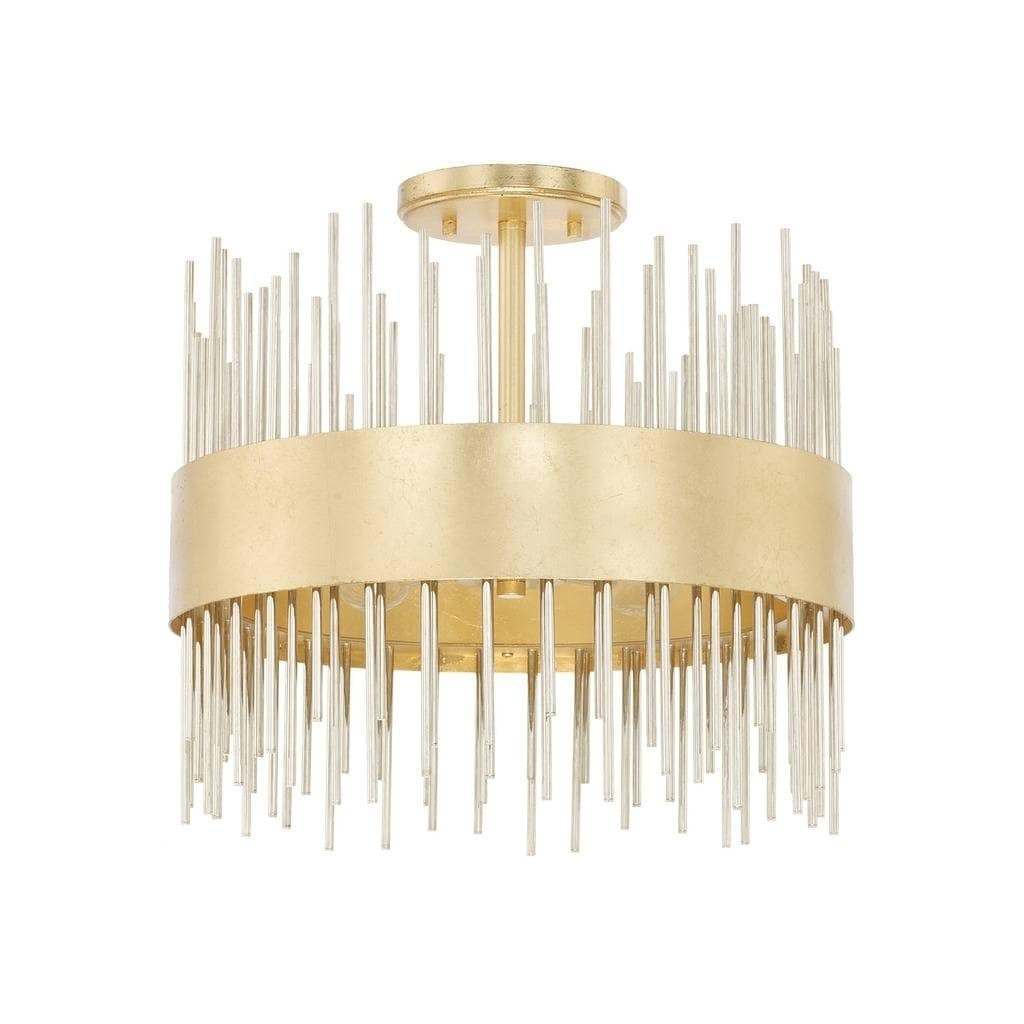 lena 4 light fire and ice semi flush mount fire and ice