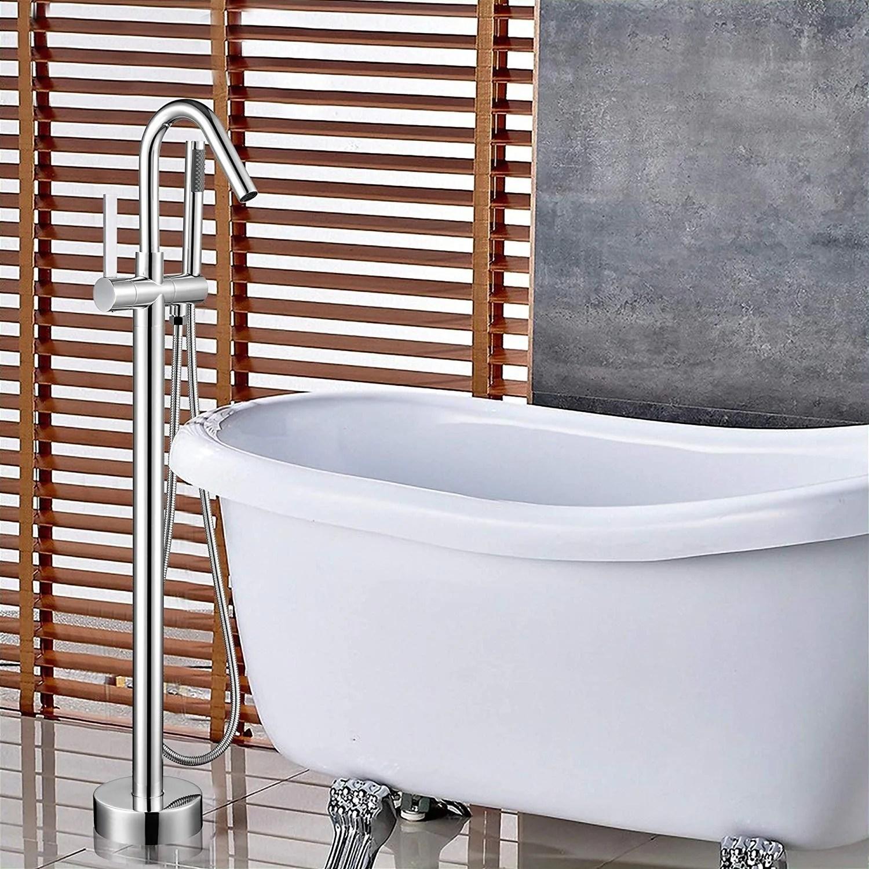free standing bathtub faucet tub filler