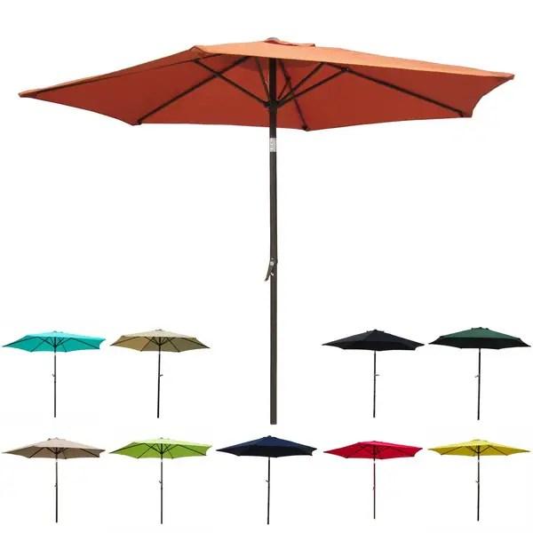 8 foot crank and tilt patio umbrella