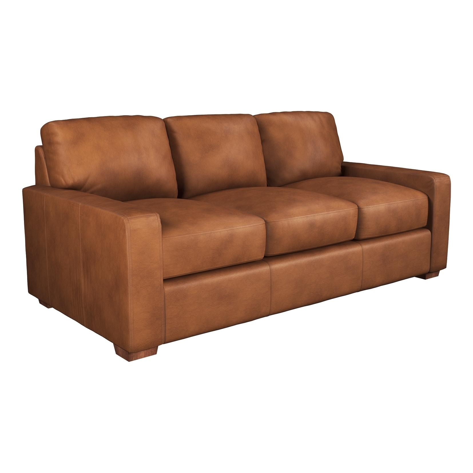 Made To Order Maxim 100 Top Grain Leather Queen Sleeper Sofa