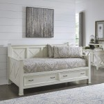 The Gray Barn Idlewild White Weathered Wood Day Bed Size Twin Overstock 24203956